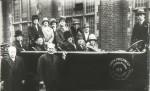 A trip in a 'chara' 1920's