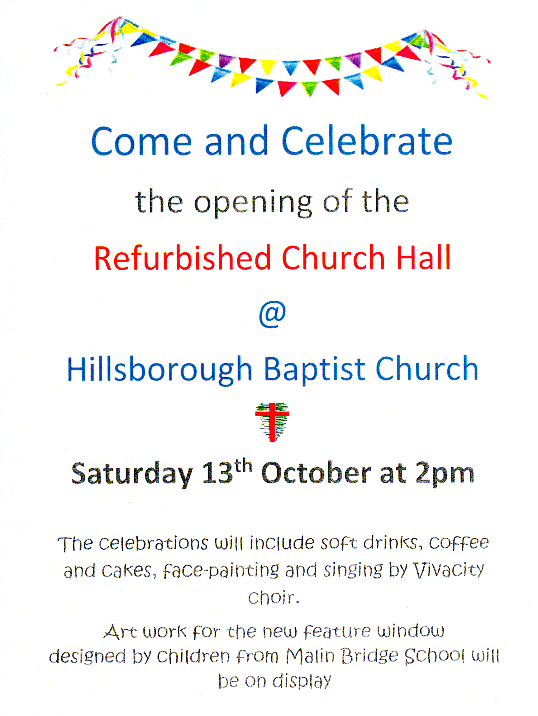 Church Hall opening