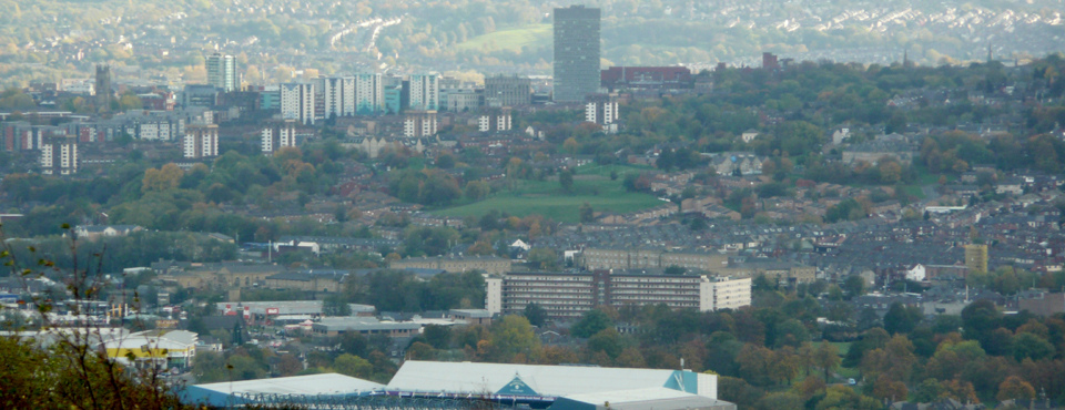 Hillsborough from Birley Edge