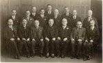 Rev JW Titherington & Deacons early 1930's